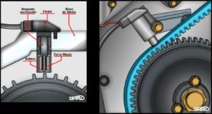 Imagem ilustrativa do sensor de rotação (CKP)
