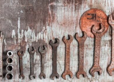 Como tirar ferrugem de ferramentas?