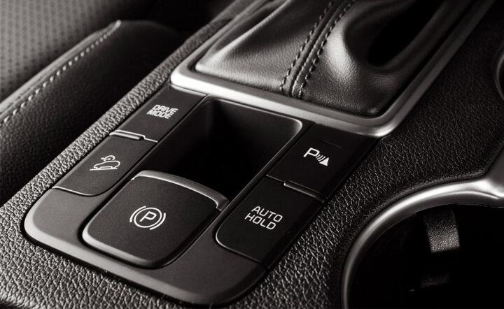 Imagem do freito auto-hold no painel